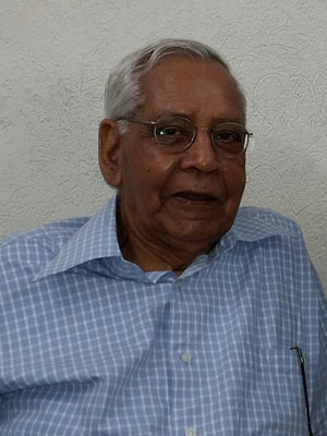 Lt. Prof S.P. Tiwari, Ex Chairman, Dept. Of Laws Panjab university, Chandigarh (50+ Years of experience in teaching Civil Law)