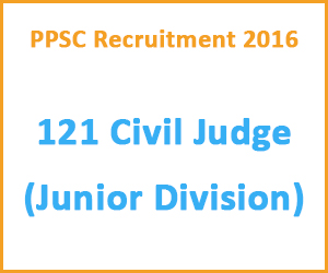PPSC Recruitment 2016